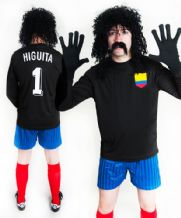 René Higuita Colombia Football Fancy Dress Costume